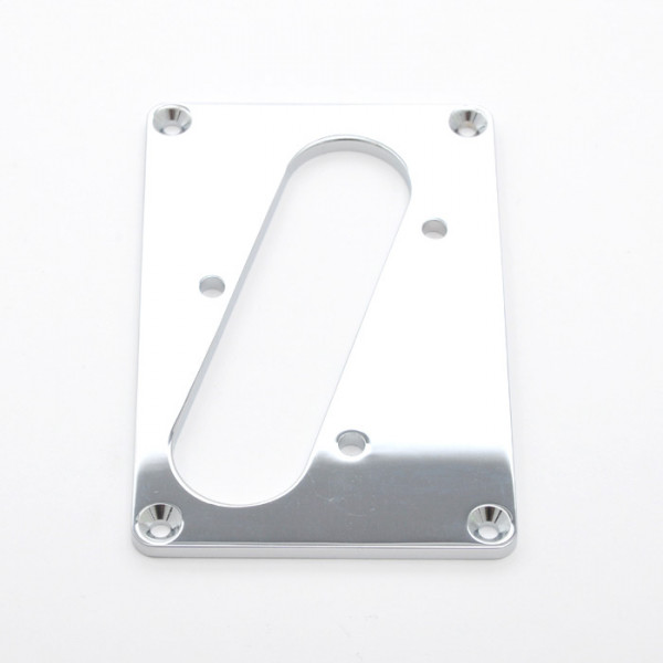 PU-Rahmen für Tele Bridge Pickup, chrom