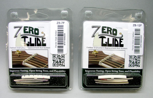 Zero Glide Nut System for Fender-style Guitars