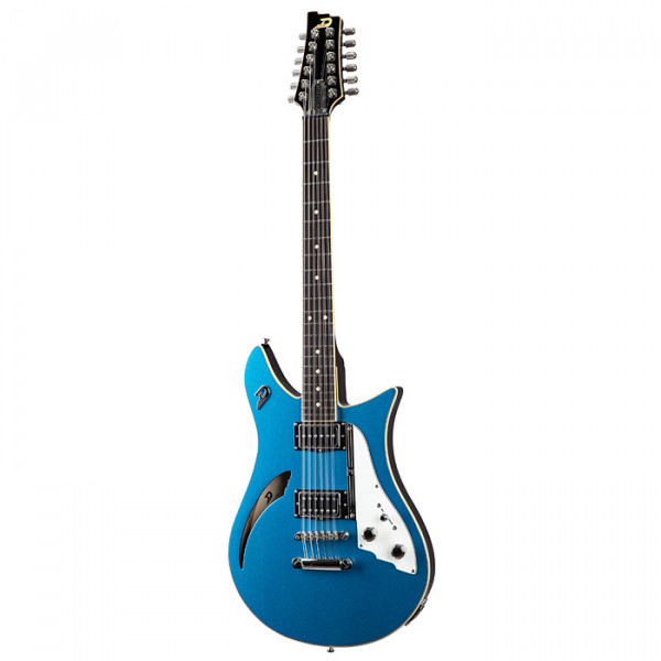 DUESENBERG Double Cat, 12-String, Catalina Blue