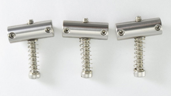 KTS Titanium Saddles for Tele, compensated