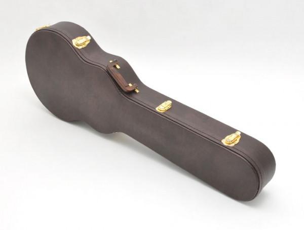 SCC Canadian Guitar Case für Les Paul, Arched Top, Braun