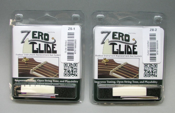 Zero Glide Nut System for Gibson-style Guitars