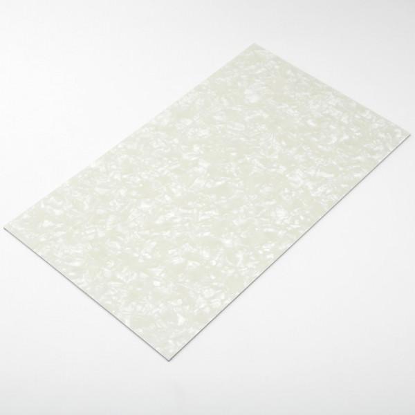 Kunststoffplatte, White Pearl