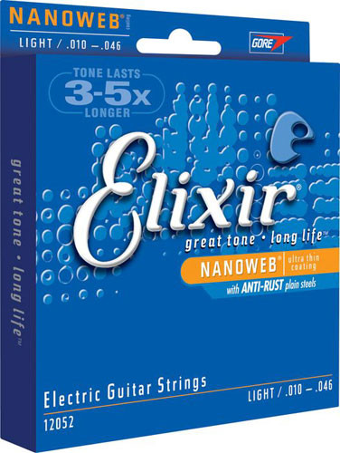ELIXIR Nanoweb Electric Strings
