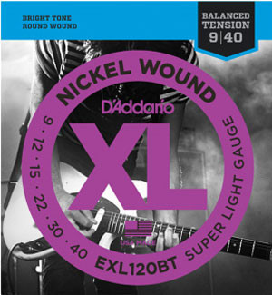 D'Addario EXL BT Balanced Tension