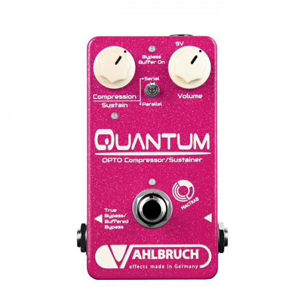 Vahlbruch Quantum Opto-Compressor/Sustainer Pedal + Buffer