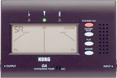 KORG Guitar/Bass Tuner GA40