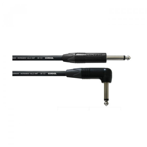 CORDIAL CPI High Performance Guitar Cable (gerade Klinke/Winkelklinke)