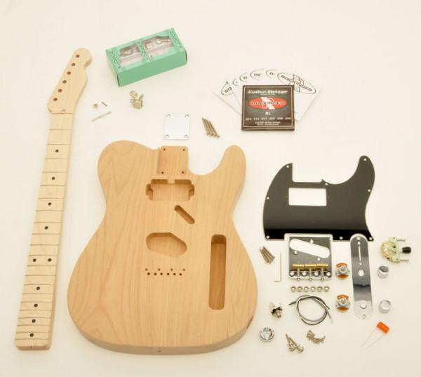 Premium Tele® Style Humbucker Kit, unlackiert, ohne Pickups