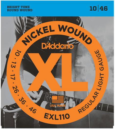 D'Addario EXL