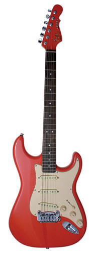 G&L USA Custom Shop Legacy, Fullerton Red