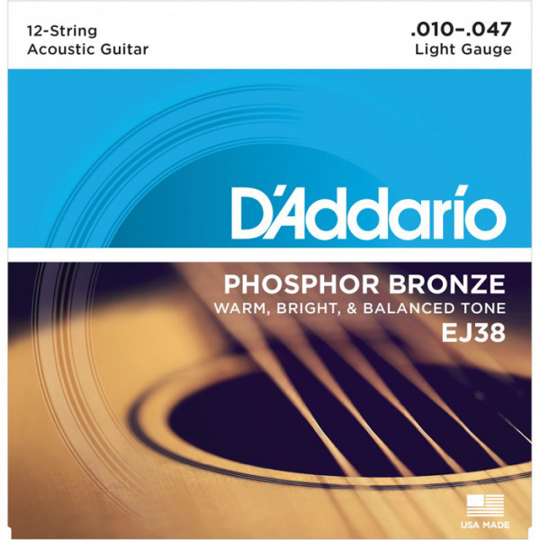 D´Addario Acoustic 12-String
