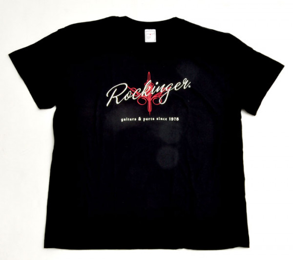 Rockinger Pinstripe T-Shirt, Black
