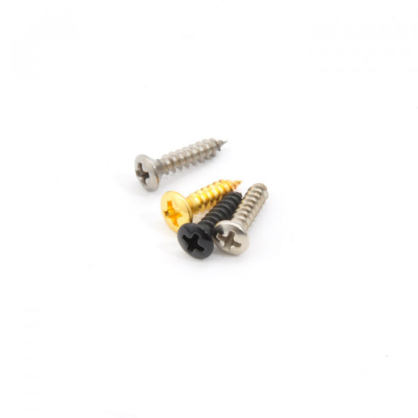 Pickguard Screws, Fender Style, 13mm