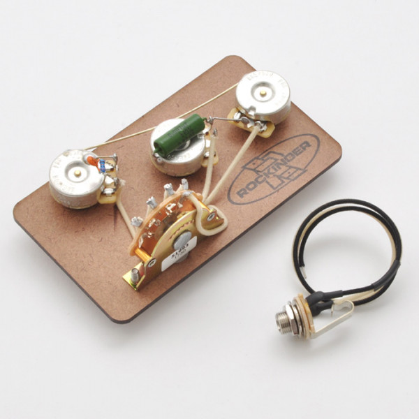 Vorverdrahtete Elektronik für 5-Way Strat