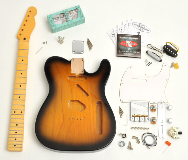 Premium Plus Tele® Style Kit, 2-Tone Sunburst