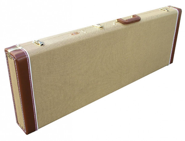 SCC Canadian Guitar Case für Strat/Tele, Tweed