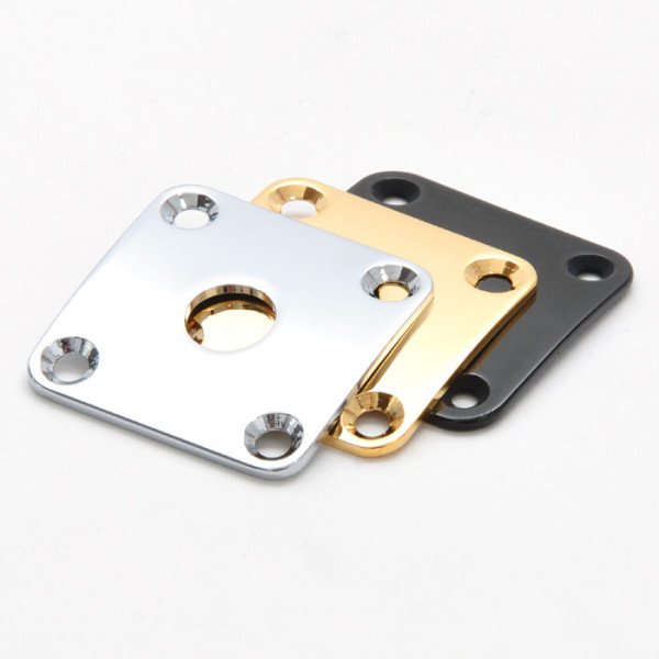 Metal Jack Plate for Les Paul
