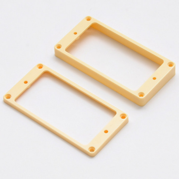 Humbucker Mounting Ring for plain top, cream