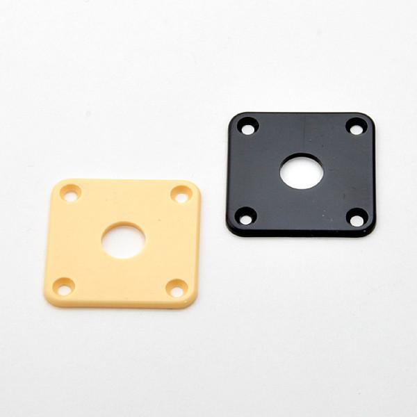Plastic Jack Plate for Les Paul