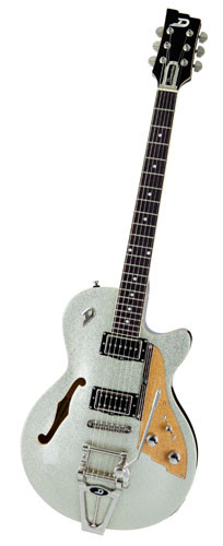 DUESENBERG Starplayer TV, Silver Sparkle Finish