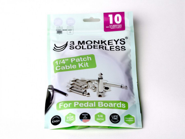 3 Monkeys Patchkabel-Kits, Solderless