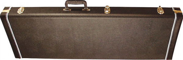 SCC Canadian Guitar Case for Strat/Tele, Black