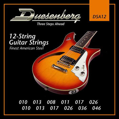 Duesenberg 12 String Guitar Strings