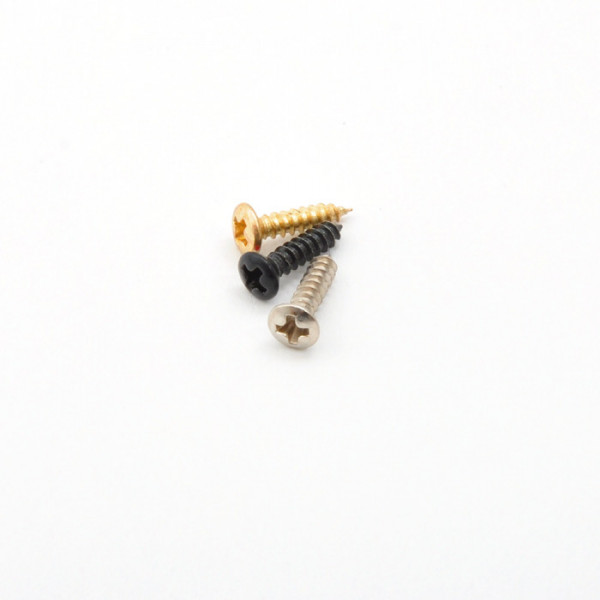 Pickguard / Pickuprahmenschrauben Gibson Style, 9mm