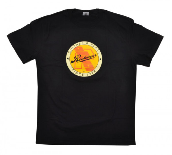 Rockinger Retro Logo T-Shirt, Black