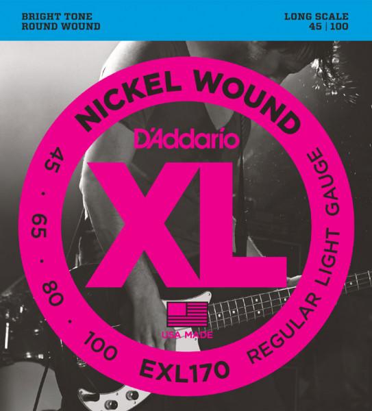 D´Addario Bass Strings EXL170, 045-100