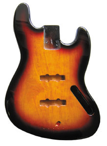 Body für Jazz Bass, 3 TONE SUNBURST
