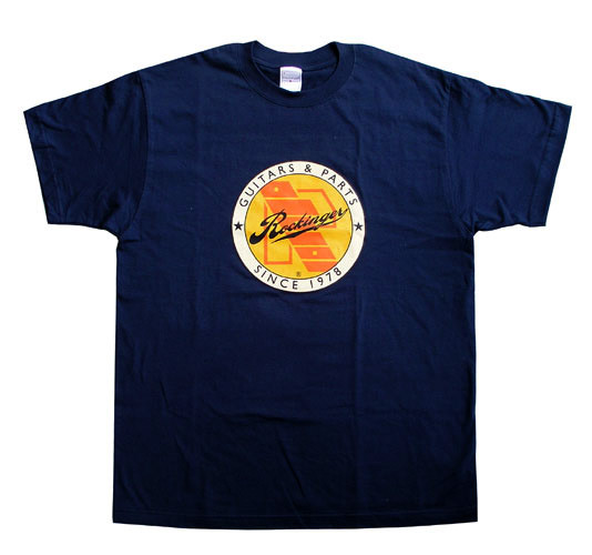 Rockinger Retro Logo T-Shirt, Royal Blue