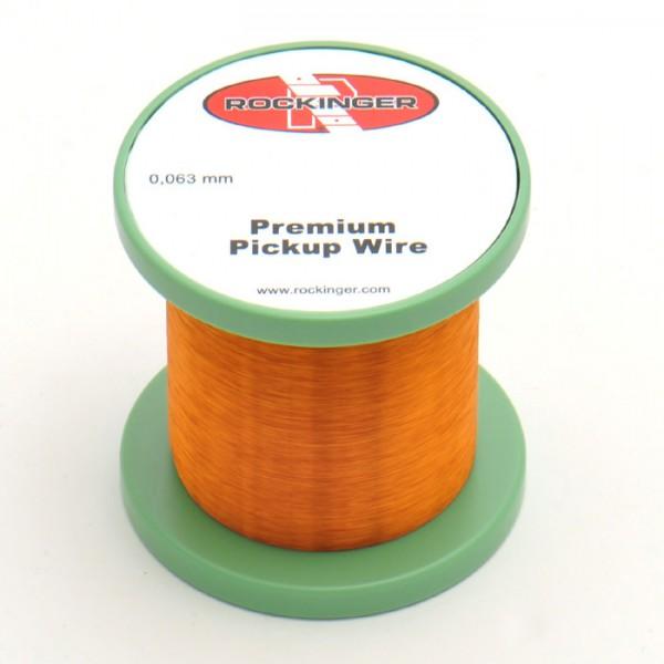 Premium Pickup Wickeldraht, 0,063mm, Restspule