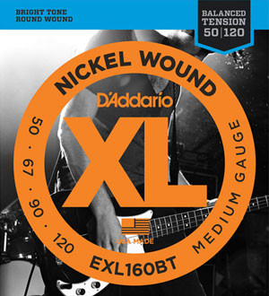 D´Addario Balanced Tension Bass Strings