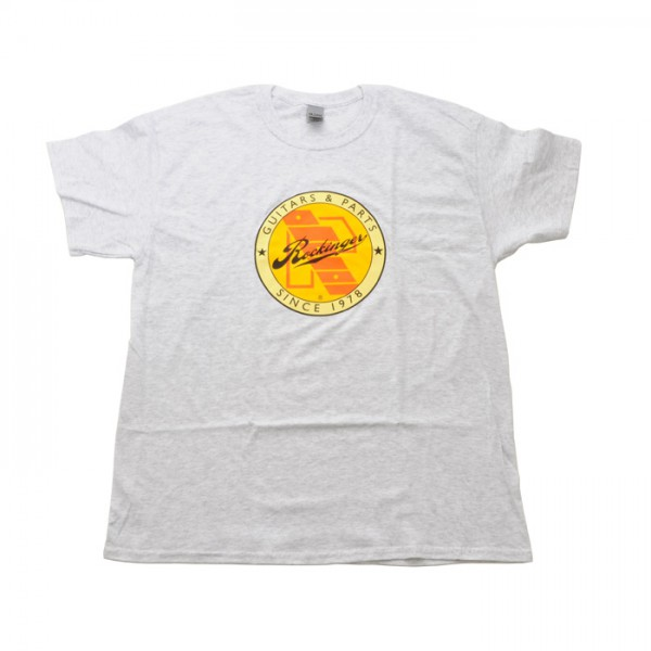 Rockinger Retro Logo T-Shirt, Ash Grey