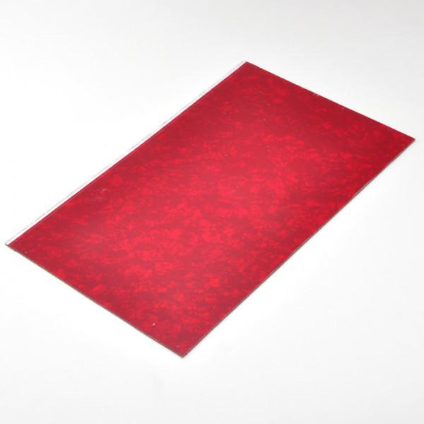 Kunststoffplatte, Red Pearl