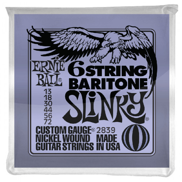 Ernie Ball 6 String Baritone, A-Tuning