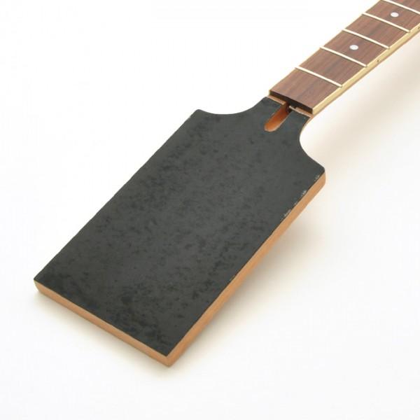 Paddle Neck mit abgewinkelter Kopfplatte, Mahagoni