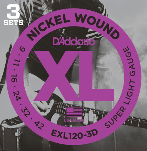 D'Addario EXL 3D Packs